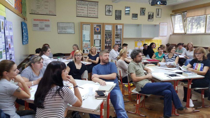 Edukacija nastavnika o inovativnim nastavnim metodama rada Čitanje i pisanje za kritičko mišljenje