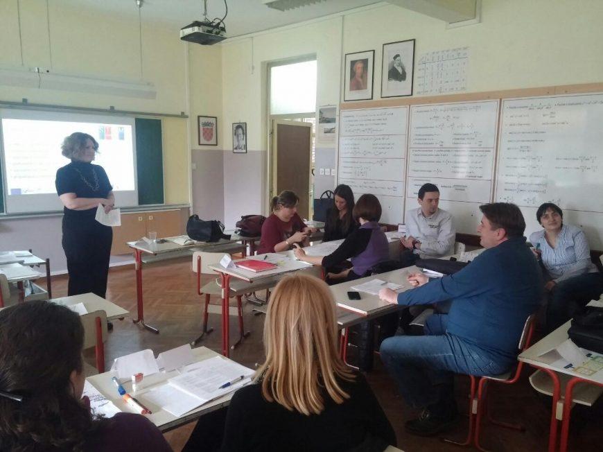 EP1 Unaprjeđenje nastavničkih kompetencija za izradu i implementaciju kurikuluma